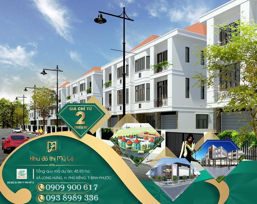 Dự án khu đô thị Mỹ Lệ Capital Bình Phước